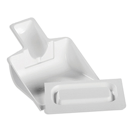 Safetec Scoop and Scraper For Spill Kits, White