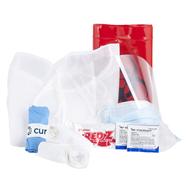 Curaplex All-In-One Personal Protection and Cleanup Kit