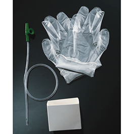 Suction Catheter Kit, incl Coiled Graduated Catheter, Gloves, Pop-up Cup, 6 French *Discontinued*