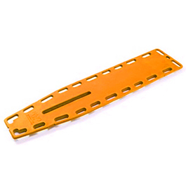 NAJO Lite Backboard, with 18 Pins, Orange, 14.5 Lb, 16 in W X 2 in H X 72 in L