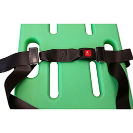 Shoulder Harness Restraint System, Vinyl Antibacterial, Torso Strap Only, Black