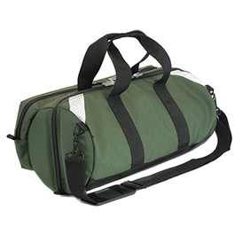 Oxygen Bag with Pocket, D Size, 21inch L x 11 1/2inch W x 8 1/2inch H, Green