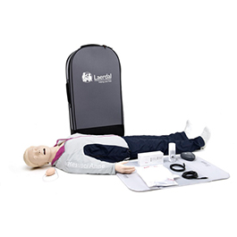 Resusci Anne QCPR Manikin, for use with Feedback Tool (not Included), with Airway Head, Full Body