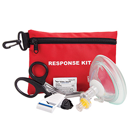 Curaplex Red Response Kit, In Pouch