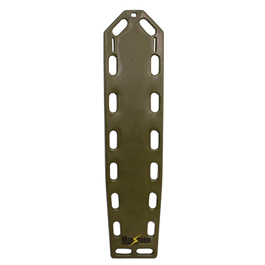 Curaplex Trauma Backboard, Without Pins, Olive Drab *Limited QTY*