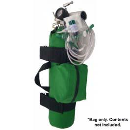 O2 Bag, Cordura, D Cylinder Sleeve, Green