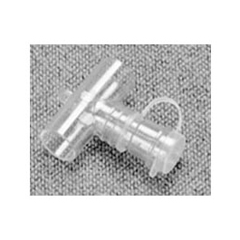 AirLife Valved Tee Adapter, 22MM OD x 22MM OD