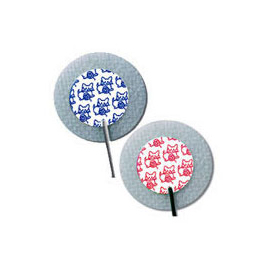 KITTYCAT Electrodes, Cloth, Pre-wired, 1 1/4inch round, 1052NPSM