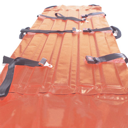 Boundtree Heavy-Duty Stretcher, Lt Weight, 79inch x 29inch, Orange, 5 Year Warranty