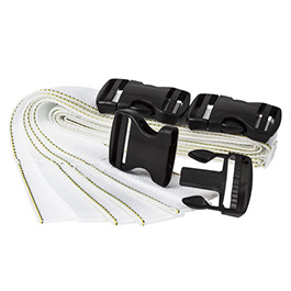Curaplex Bak-Pak Starter Set Of 3  Straps & Buckles