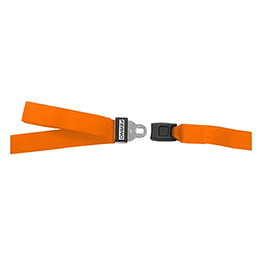 Model 430 Series Cot Restraint Straps, 5ft, 2 pc, Orange