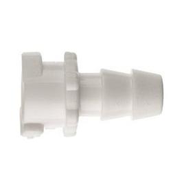 Female Locking Adapter, Plastic, 5/32inch, 4mm, Hose Barb
