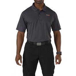5.11 Pinnacle Polo, Short Sleeve, Men, Charcoal