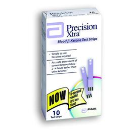 Precision Xtra Blood Ketone Test Strips