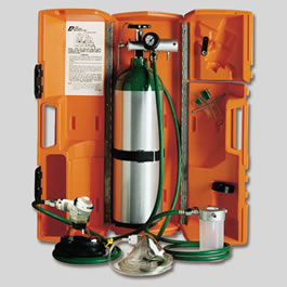 LSP Portable Resuscitation System w/EMT Resuscitator, Hard Case