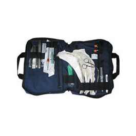 Intubation Kit Bag, Padded, Zipper Brief Case Style