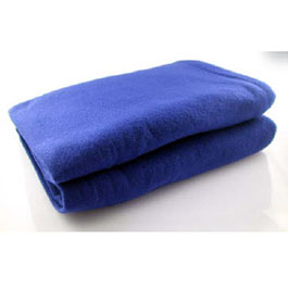 *Limited Quantity* Fleece Blanket, 60inch x 90inch, Blue