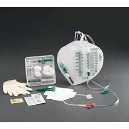 Lubri-Sil Urine Meter Foley Tray, Features a Lubri-Sil Foley Catheter, Pediatric, 10 Fr, 400ml