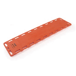 NAJO RediWide Backboard, 18in, No Pins, Orange