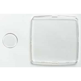 Gauge Crystal, Clear Plastic Lens for use w/ADC Gauges Only