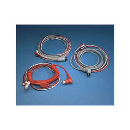 Standard EKG Cables, for Lifepak 10, w/90 Degrees Connector, *Limited QTY*