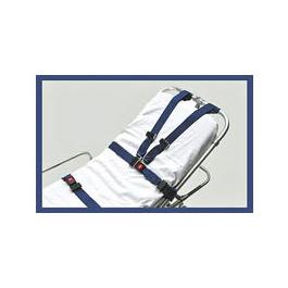Shoulder Harness Strap, incl 2 Shoulder Straps, 2 Piece Lap Straps, Impervious, Blue