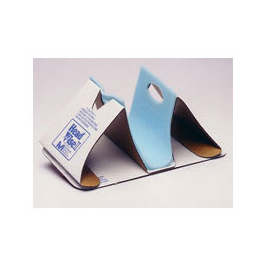 Head Vise II Head Immobilizer, Disposable, Moisture Resistant Cardboard, X-Ray Translucent