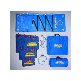 Evac-U-Splint Complete System, incl Splints, Mattress, Handles, Case, 2 Pumps