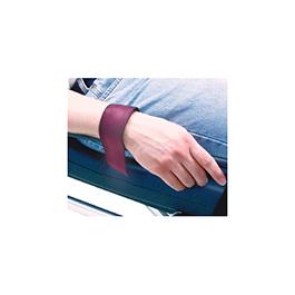 Cot Restraint, Cot Rail, Wrist, Nylon Webbing, Maroon