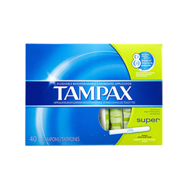 Tampax Super Absorbency