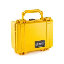Pelican 1150 Case, No Foam, Yellow
