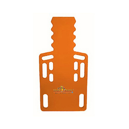 Iron Duck Ultra Short Backboard, Without Pins, Orange