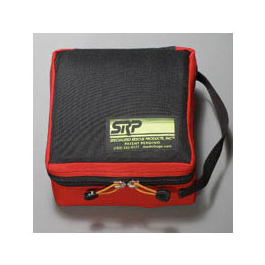 Mini Drug Bag, SRP #16, Black Bag w/Red Trim