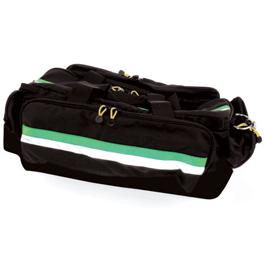 Airway Bag, 27inch L x 14inch H x 12inch W, Black w/Green Stripe