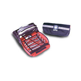 Infinity Pro Intubation Kit, 14inch L x 3inch W x 7inch D, Black