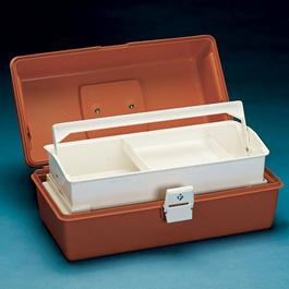 Flambeau Model 1702 Medical Box, 16 1/2inch L x 8 3/4inch W x 7 1/2inch D