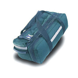Basic O-2 Bag, First Response Only, Holds D or Jumbo D Bottle, 22inch x 10½ inch x 8inch, Green