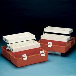 Flambeau Model 1872 Medical Box, 17 5/8inch L x 10 1/4inch W x 8 3/4inch D