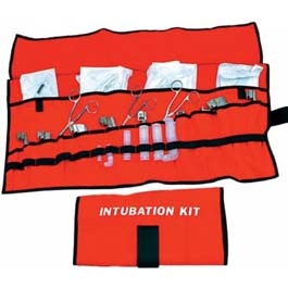 Roll-Up Intubation Kit, 14inch x 29inch, Orange