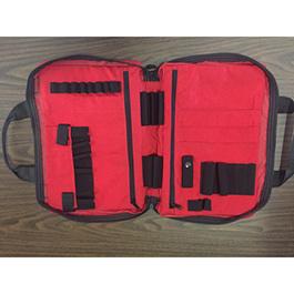 IV Kit Bag, Reflective Tape, Red
