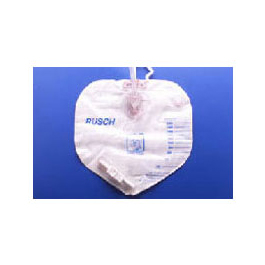 Rusch Urinary Drain Bag w/Anti-Reflux Valve, Bedside Bag