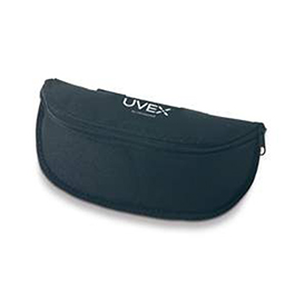 Uvex Protective Safety Glasses Case, Astro Pack, Textured, Black, Fits Most Safety Glasses *Discontinued*