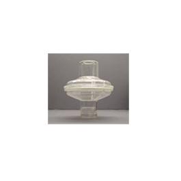 Bacterial/Viral Filter, 22mm OD x 15 ID / 22mm ID, Sampling Port