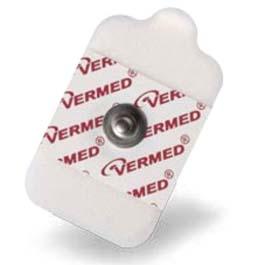Electrode, Diaphoretic, EMS, Wet Gel, 1 1/3inch x 2 1/4inch Foam, Adult, 6/pk