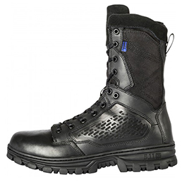 5.11, Boots, EVO, 8 inch Side Zip, Waterproof, Men, Black