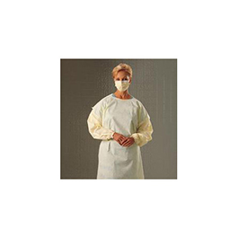 Isolation Gown, Yellow, XLG
