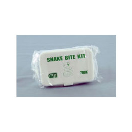 Snake Bite Kit, Plastic Case