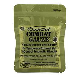 Quikclot Combat Gauze, Z-Fold
