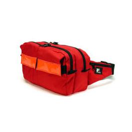 OTS-XL Emergency WaistPak, Red w/Red Reflective Stripe