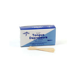 Tongue Depressors, Adult, 6inch, Sterile